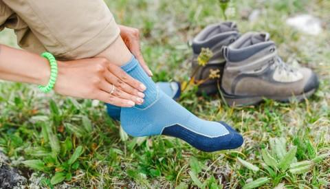Wandern Socken