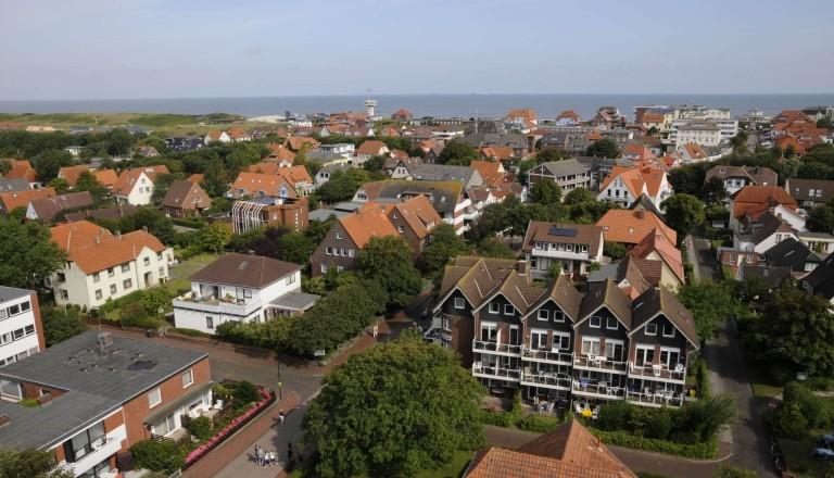 Inseldorfidylle auf Wangerooge.