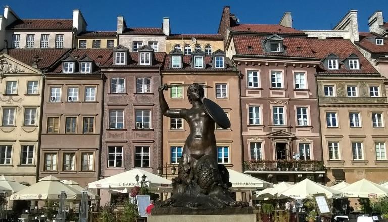Warschau Altstadt Städtereisen