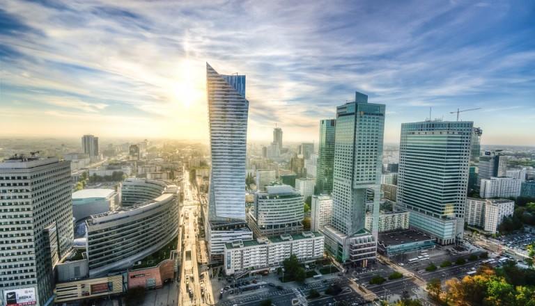 Warschau Skyline Städtereisen