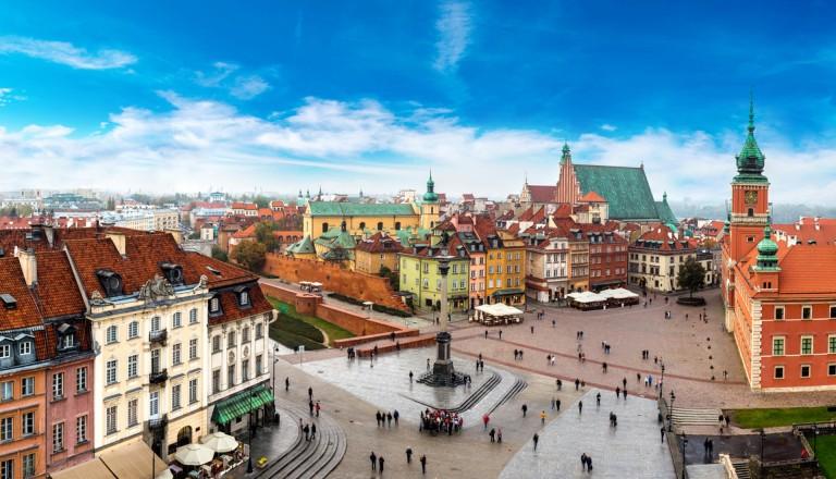 Warschau Städtereisen Polen