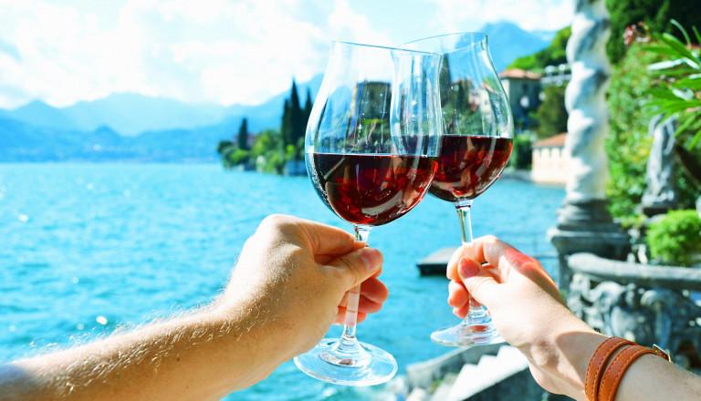 Wein am Comer See