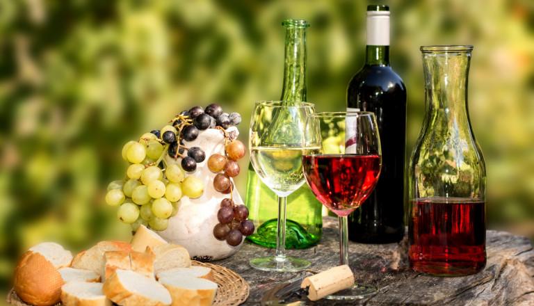 Weinverköstigung