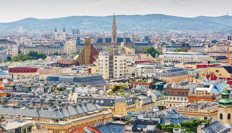 Österreichs Hauptstadt Wien.