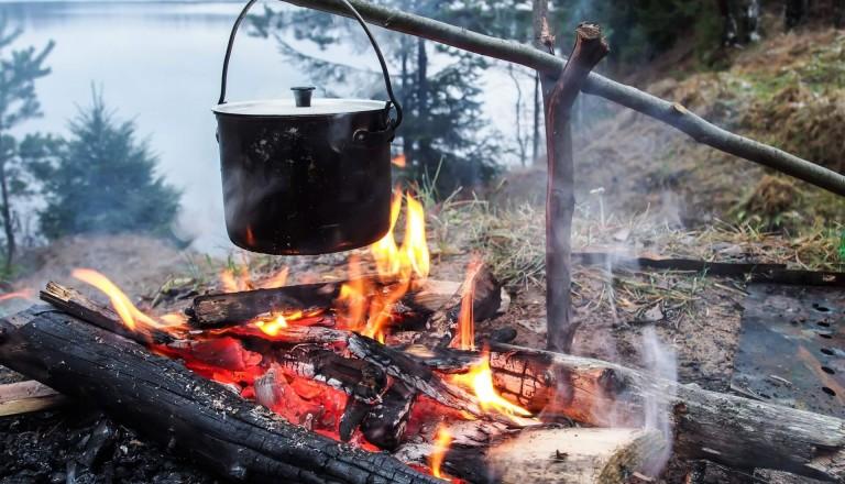 Wildcamping Tipps Feuer