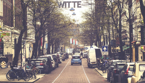 Witte de Withstraat ist ein Szenneviertel von Rotterdam.