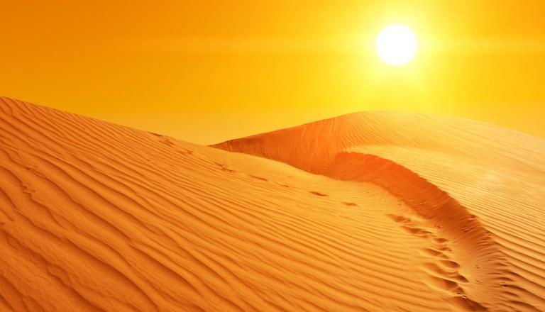 Wüste Sahara Tunesien
