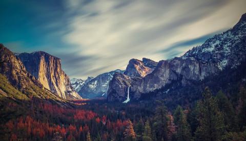Kontrast zu den Metropolen - der Yosemite National Park.
