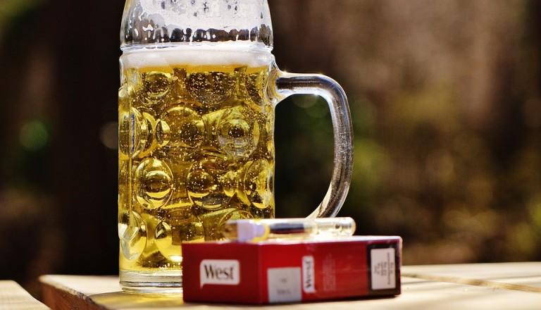 Zigaretten Bier