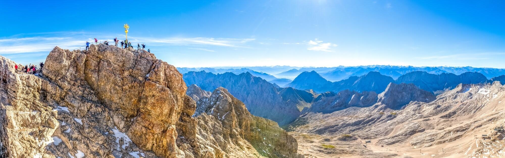 Wandern Aktivurlaub Zugspitze