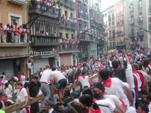 Stierlauf San Fermin Pamplona
