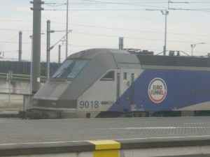 Mit den Eurostar-Zügen durch den Eurotunnel