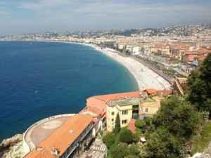 Strand von Nizza an der Cote d´Azur