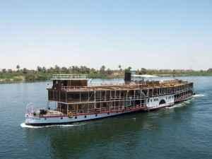 Schiff Nil Nilkreuzfahrt