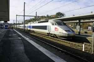 Der franzoesische Schnellzug TGV