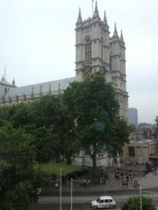 Die berühmte Westminister Abbey in London