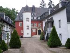 Die Burg Dalbenden in Kall