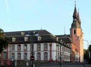 Prüm - Blick auf die Salvator-Abtei