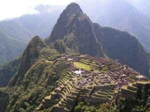 Die Inkastadt Machu Picchu in Peru