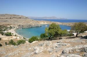 Küste von Rhodos