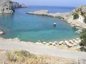 Strand von Lindos