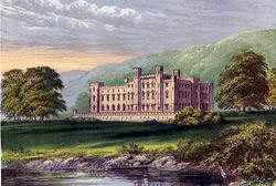 Der Scone Palace bei Perth, Schottland