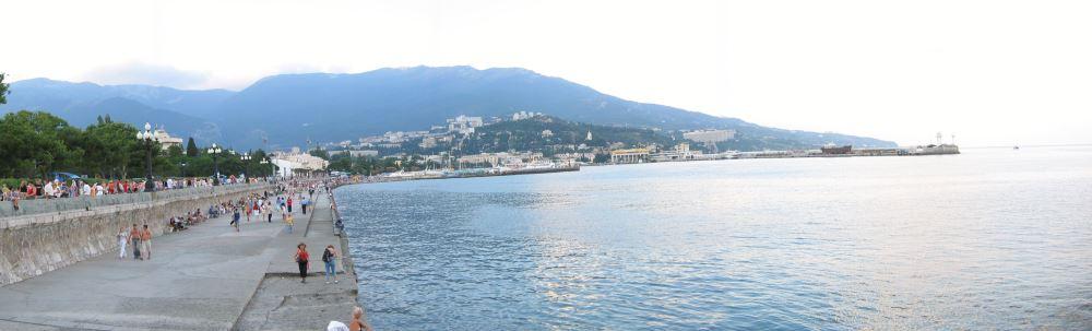 Panoramablick auf Yalta