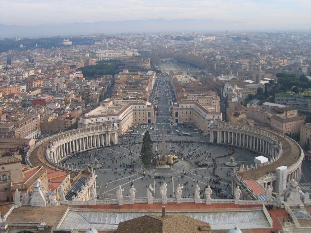 Rom Vatikan Petersplatz