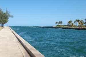 Strandpromenade auf Kuba