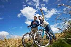 Aktiv mit dem Rad unterwegs: So wird der Urlaub alles andere als langweilig.