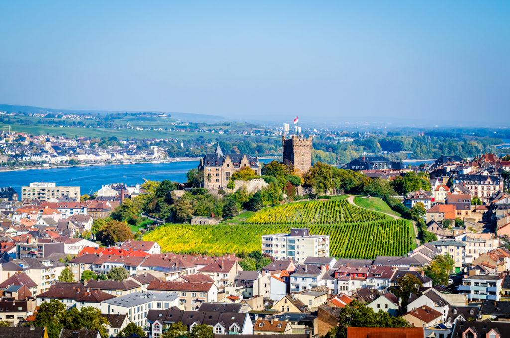 Wanderweg nach Bingen am Rhein