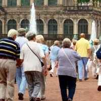 Reisegruppe Senioren