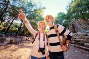 Senioren auf Reisen