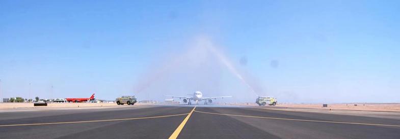 Landebahn Airport Sharm el-Sheikh