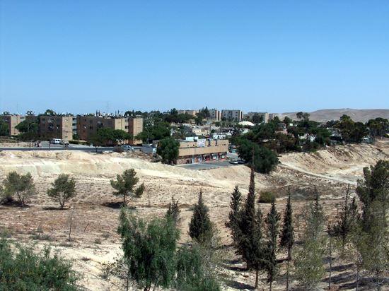Arad in der israelischen Wüste