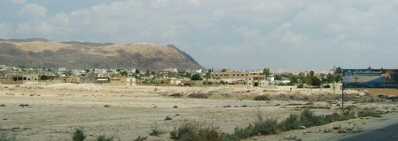 Das Städtchen Jericho im Westjordanland
