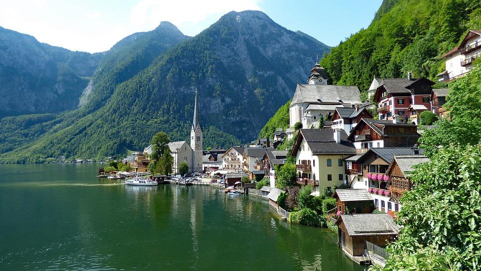 Hallstatt in Österreich