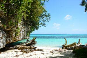 Strand auf Palau