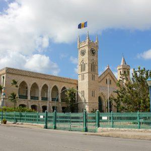 Das Parlament in Bridgetown
