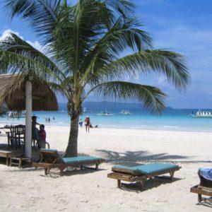 Strand, Boracay, Philippinen