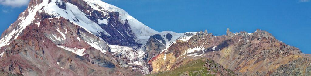 Berg Kasbek in Georgien