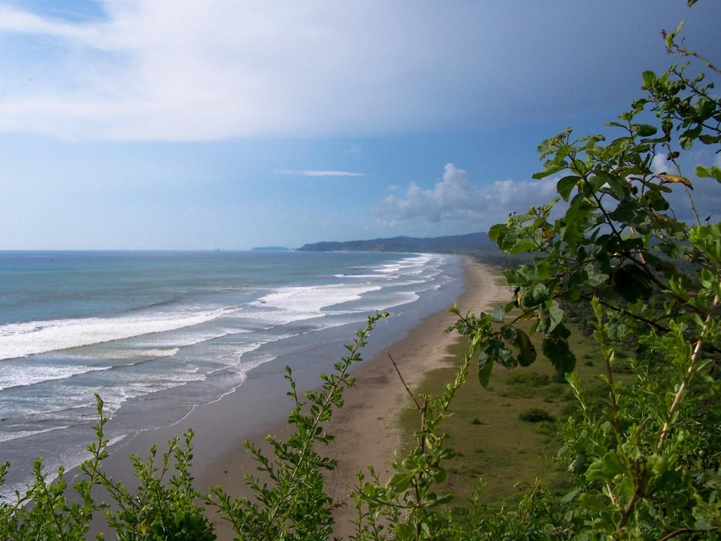 Strand in Ecuador