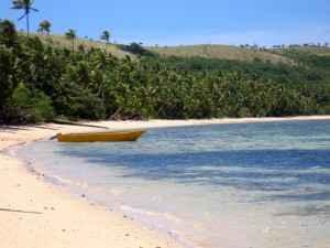 Strand auf den Fidschi Inseln