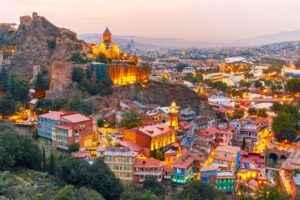 Hauptstadt Tiflis