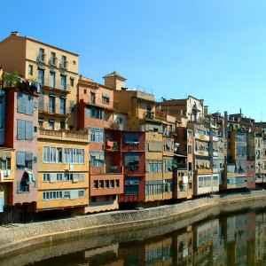 Altstadt, Girona, Spanien