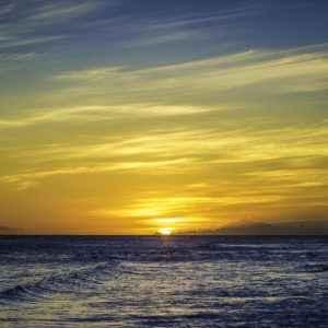 Sonnenuntergang auf Barbados