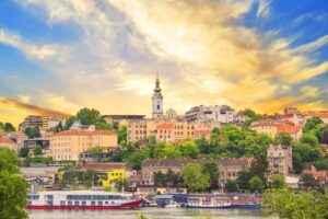 Historischer Stadtkern von Belgrad