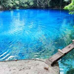 Blue Hole Lagune auf Espiritu Santo