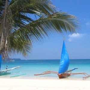 Boot, Boracay, Philippinen
