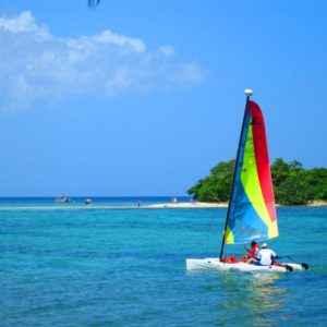 Boot, Negril, Jamaika